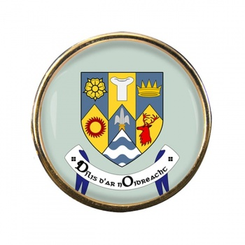County Clare (Ireland) Round Pin Badge