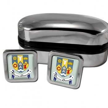 County Clare Ireland Square Cufflinks