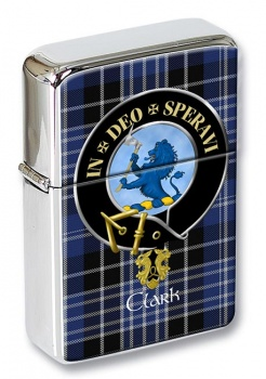 Clark lion Scottish Clan Flip Top Lighter