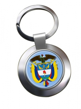 Colombia Metal Key Ring
