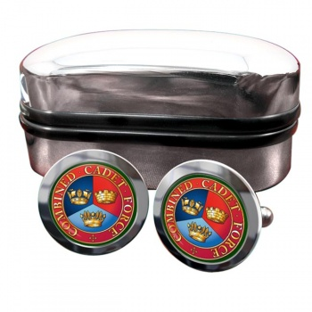 Combined Cadet Force Round Cufflinks