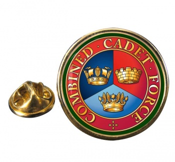 Combined Cadet Force Round Pin Badge