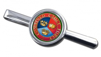 Combined Cadet Force Round Tie Clip