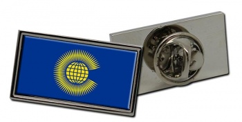 Commonwealth of Nations Flag Pin Badge