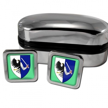 Connaught Connacht Ireland Square Cufflinks
