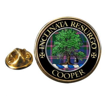 Cooper Scottish Clan Round Pin Badge
