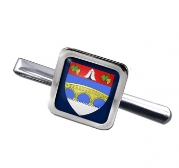 Courbevoie (France) Square Tie Clip