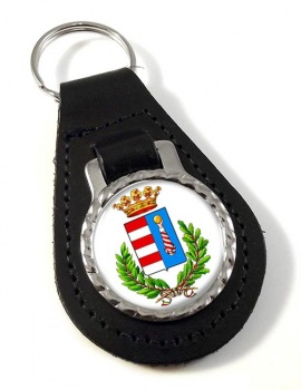 Cremona (Italy) Leather Key Fob