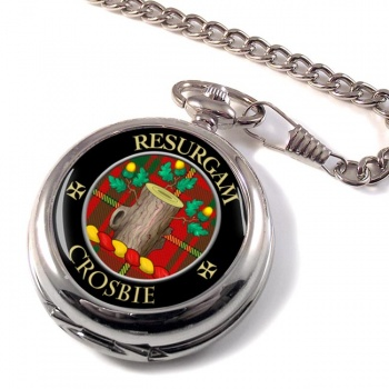 Crosbie Scottish Clan Pocket Watch