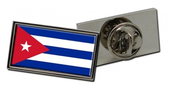 Cuba Flag Pin Badge