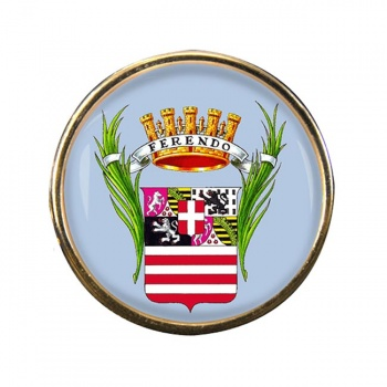 Cuneo (Italy) Round Pin Badge