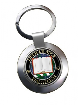 Dalgleish Scottish Clan Chrome Key Ring