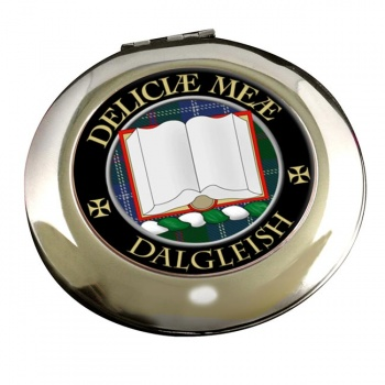 Dalgleish Scottish Clan Chrome Mirror