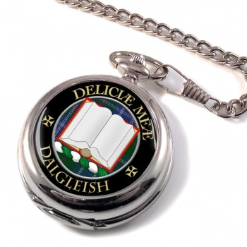 Dalgleish Scottish Clan Pocket Watch