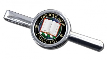 Dalgleish Scottish Clan Round Tie Clip