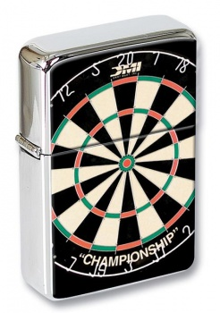 Dartboard Flip Top Lighter