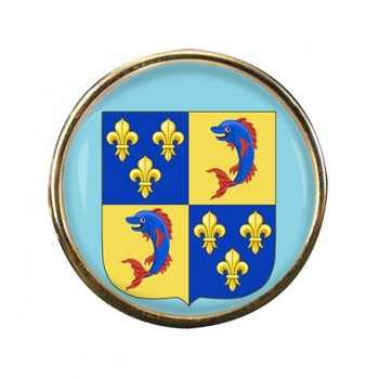 Dauphine (France) Round Pin Badge