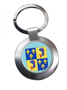 Dauphine (France) Metal Key Ring