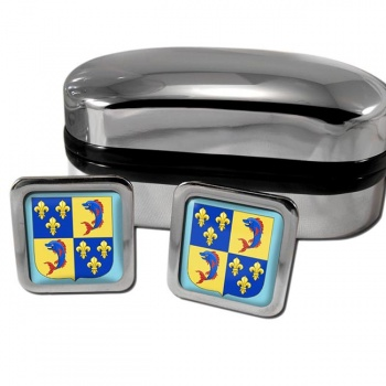 Dauphine France Square Cufflinks