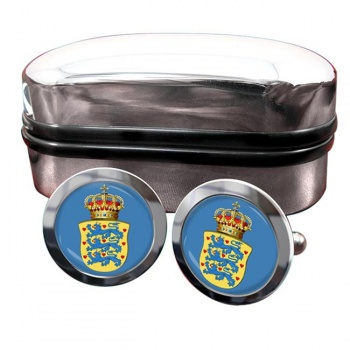 Kingdom of Denmark Crest Cufflinks