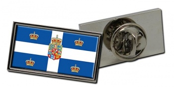 Kingdom of Denmark Flag Pin Badge