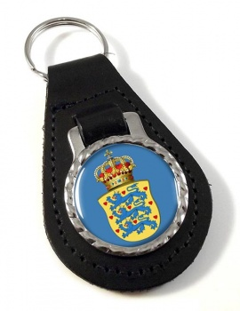 Kingdom of Denmark Leather Key Fob