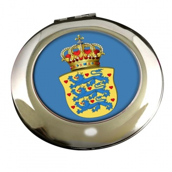 Kingdom of Denmark Round Mirror