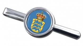 Kingdom of Denmark Round Tie Clip