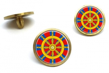 Dharmacakra Wheel of Dharma Golf Ball Markers