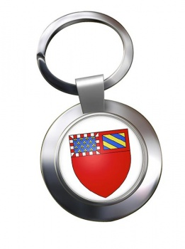 Dijon (France) Metal Key Ring