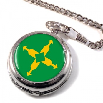 Distrito Federal (Brasil) Pocket Watch