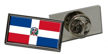 Dominican Republic Flag Pin Badge