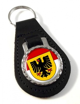 Dortmund (Germany) Leather Key Fob