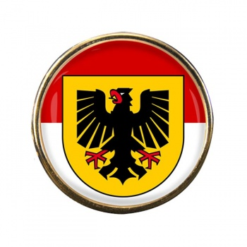 Dortmund (Germany) Round Pin Badge