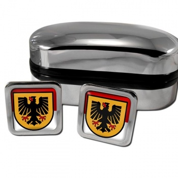 Dortmund Germany Square Cufflinks