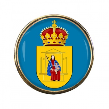 Drenthe (Netherlands) Round Pin Badge