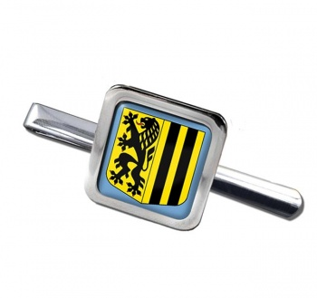 Dresden (Germany) Square Tie Clip