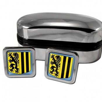 Dresden Germany Square Cufflinks