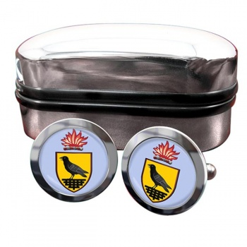 County Dublin (Ireland) Crest Cufflinks