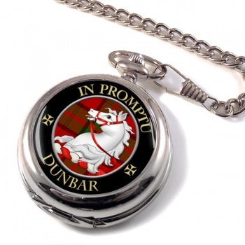 Dunbar Scottish Clan Pocket Watch