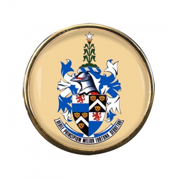 Durban (South Africa) Round Pin Badge