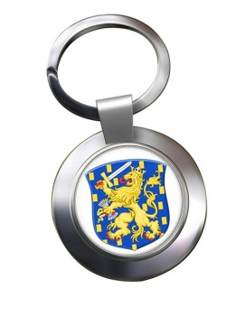 Groot Rijkswapen (Netherlands) Metal Key Ring