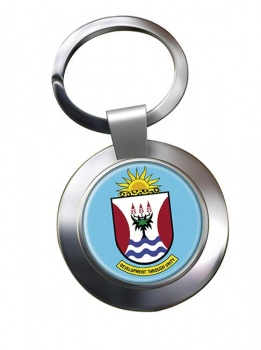 Eastern Cape (South Africa) Metal Key Ring