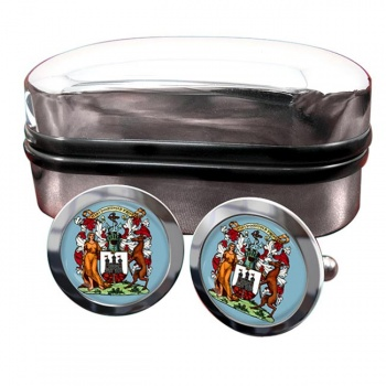 Edinburgh Crest Cufflinks & Box