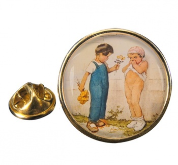 Emotion by Georges Redon Pin Badge