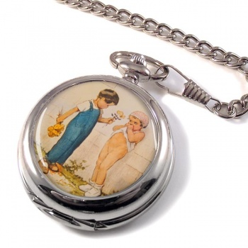 Emotion by Georges Redon Pocket Watch
