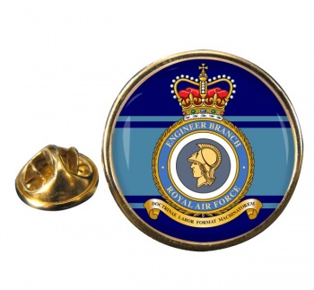 Engineer Branch Round Pin Badge