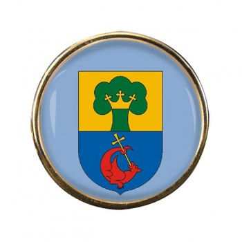 Erd Round Pin Badge