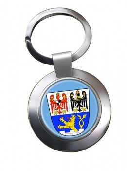 Erlangen (Germany) Metal Key Ring