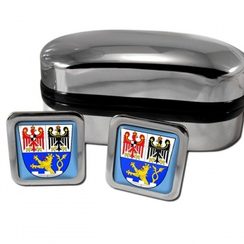 Erlangen Germany Square Cufflinks